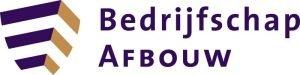 Logo van Bedrijfschap Afbouw
